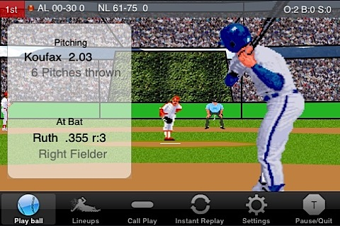 EWB Baseball for iPhone