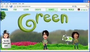 dell-green-portal-when-you-click-home-on-the-browser